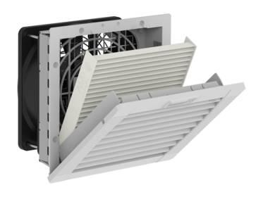 Ventilador con filtro PF 22.000 y  Filtro de descarga PFA 20.000